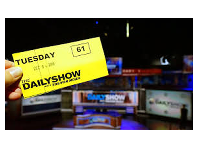 Tickets to The Daily Show in New-York