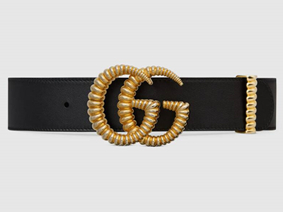 Gucci wide belt